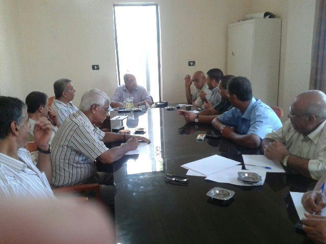 وفد لجنة المتابعة المركزية للجان الشعبية يعقد اجتماعات في الشمال
