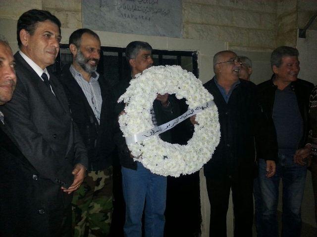 ايقاد شعلة ذكرى انطلاقة الجبهة الشعبية في مخيم شاتيلا