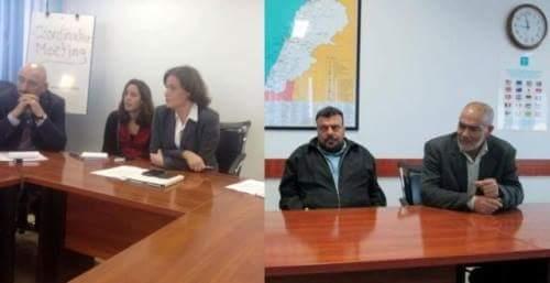 وفد من فصائل المقاومة واللجان الشعبية في الشمال زار المديرة العامة بالوكالة في الاونروا