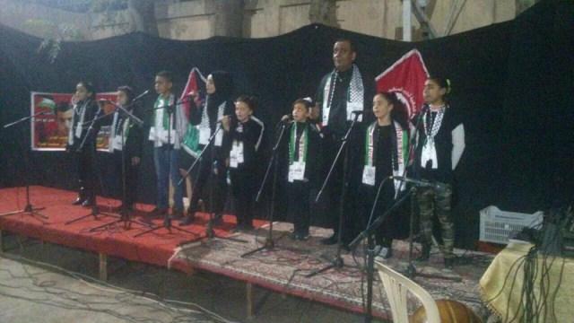 حفل فني في مخيم البداوي لمناسبة الانطلاقة