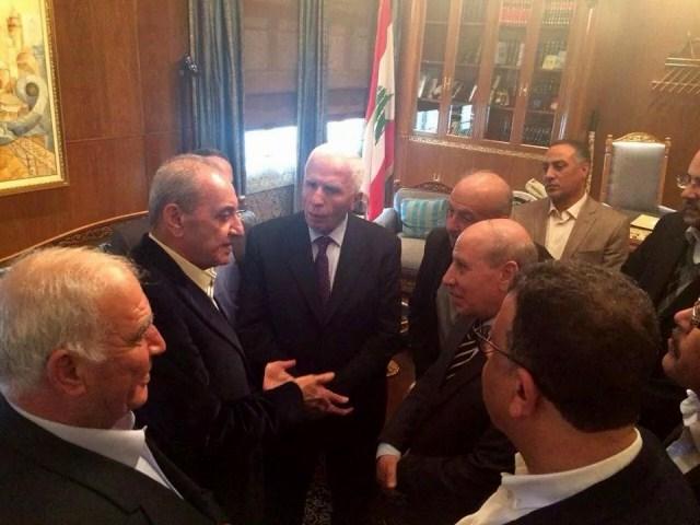 جولة سياسية للوفد الفلسطيني الموحد