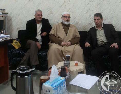 وفد من اللجان الشعبية في صيدا زار الحركة الاسلامية المجاهدة