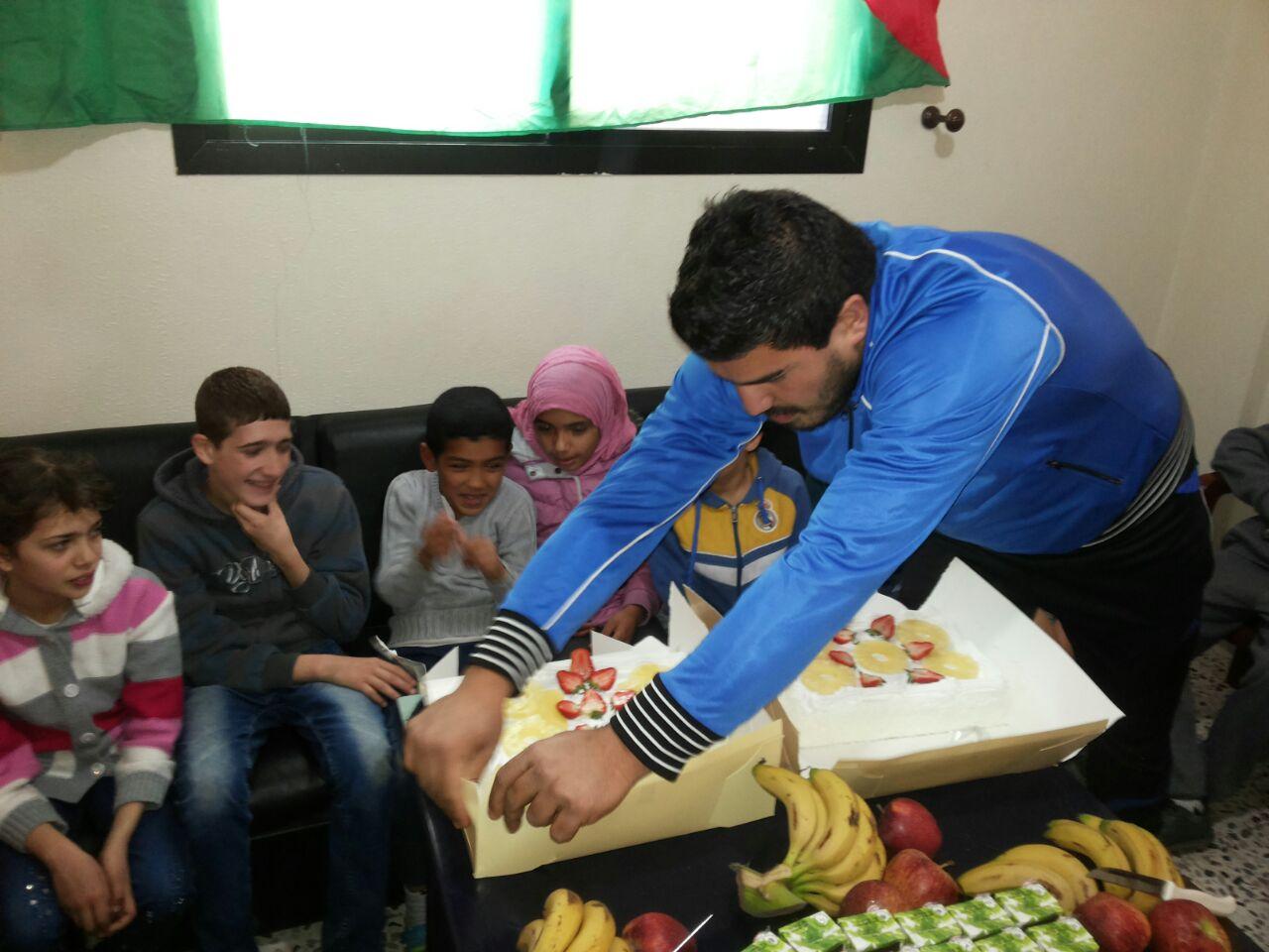 منظمة الشبيبة الفلسطينية  مفوضية صور تحتفل بيوم الطفل العالمي