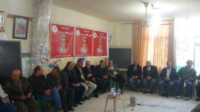 فصائل المقاومة قدمت التعزية بوفاة القائد الوطني الرفيق عربي عواد