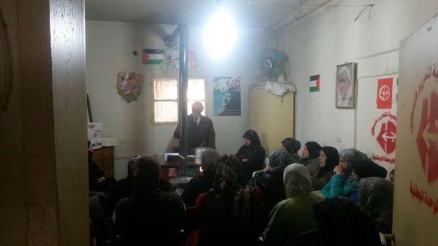 لجان المرأة الشعبية الفلسطينية في مخيم الجليل احتفلت بيوم الأم