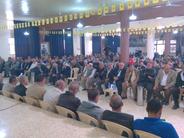 فتح تحيي ذكرى معركة الكرامة ويوم الأرض بمهرجان جماهيري في البداوي