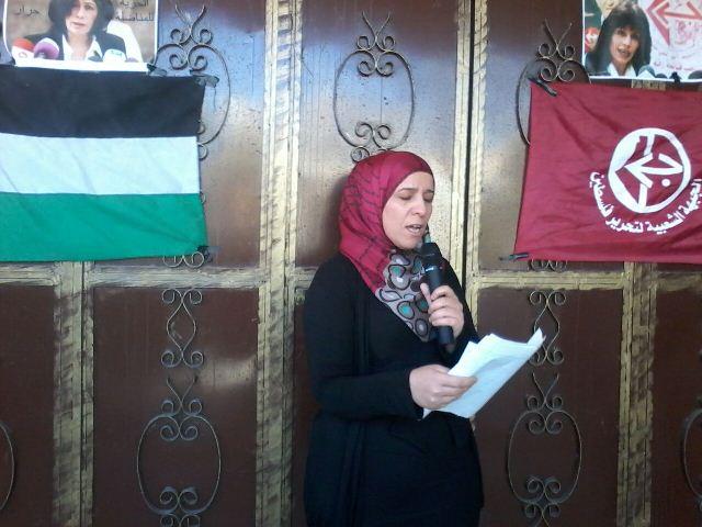 لجان المرأة في الجبهة الشعبية احتفلت بمناسبات شهر آذار في مخيم الرشيدية