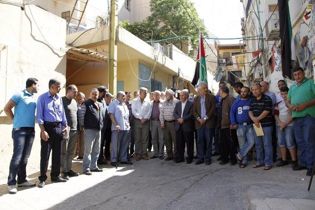 اعتصام لاتحاد عمال نقابات فلسطين في بيروت دعماً لمطالب السائقين الفلسطينيين