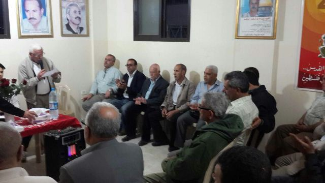 لجان العمال الشعبية الفلسطينية في الشمال احتفلت بعيد العمال العالمي