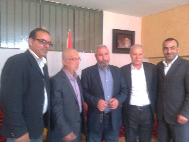 وفد من حركة فتح في الشمال زار النائب الوزير السابق يوسف سعادة