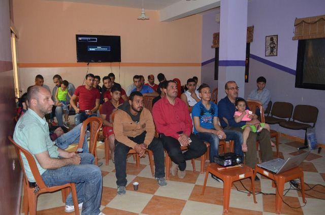 نادي السينما الثقافي الفلسطيني افتتح عروضه في مركز التضامن الاجتماعي