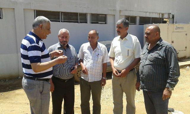 الشعلان يتابع استحداث مقبرة في مخيم البداوي