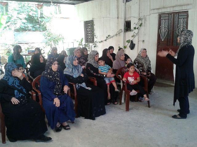 ندوة صحيّة في مخيم البص