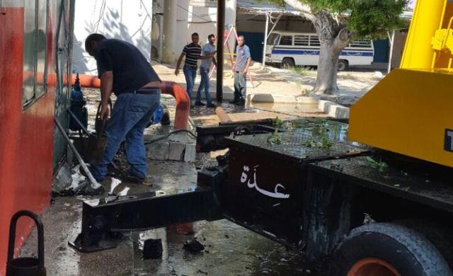 اللجنة الشعبية في مخيم عين االحلوة باشرت بعملية صيانة بئر الشهيد سعد صايل
