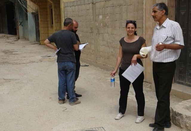 فريق عمل منظمة الـUNDP يستكمل التحضير للبدء بتنفيذ مشاريع البنى التحتية في مخيمي البداوي ونهرالبارد
