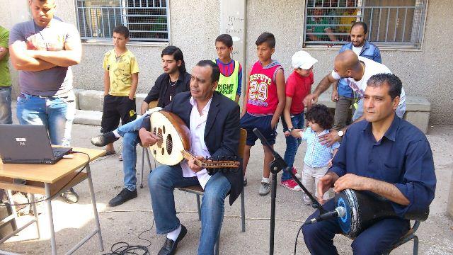 يوم مفتوح في مدرسة جبل طابور قي مخيم نهر البارد