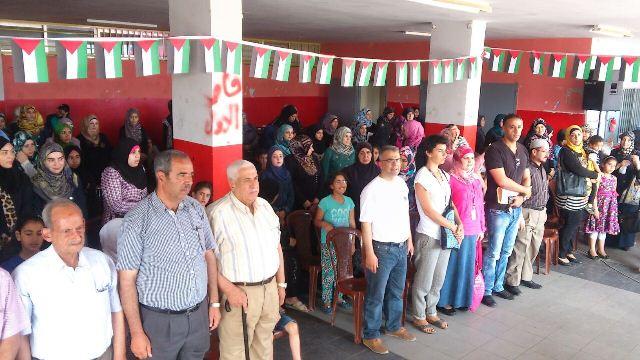 مدرسة غزة وكلية تدريب سبلين تختتمان عامهما الدراسي باليوم المفتوح في نهر البارد