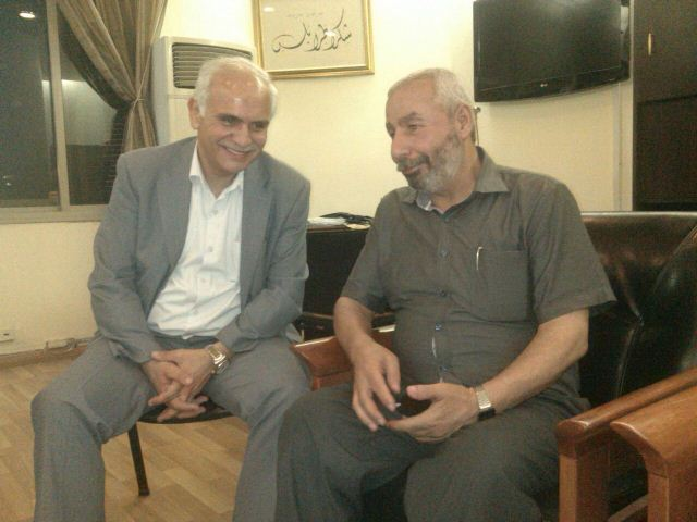 أمين سر حركة فتح في الشمال زار رئيس بلدية طرابلس