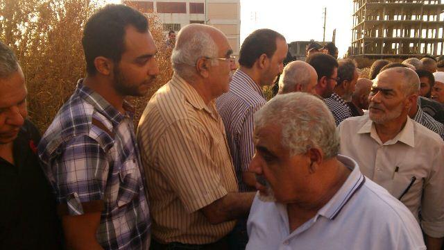 مخيم نهر البارد شيّع المناضل الراحل أبومحمد اسماعيل
