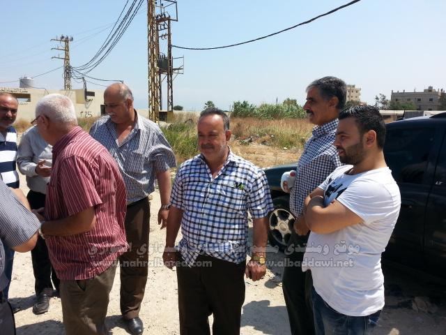 فصائل منظمة التحرير تسلمت من مخابرات الجيش 1000 متر من أرض المنظمة في نهر البارد