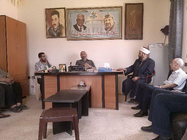 أمين سر حركة فتح في الشمال التقى وفد من الرابطة اللبنانية لنصرة الشعب الفلسطيني