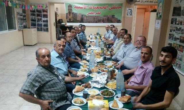 اتحاد الشباب ينظم افطارا تكريميا لملتقى الجمعيات الأهلية في طرابلس