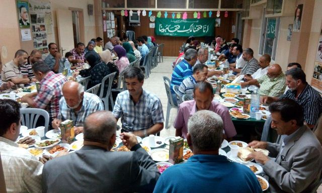 افطار للمؤتمر الشعبي في طرابلس بمناسبة ذكرى موقعة بدر الكبرى