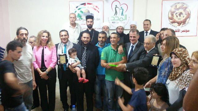 اللقاء الشبابي اللبناني الفلسطيني أقام إفطار رمضاني في شاتيلا
