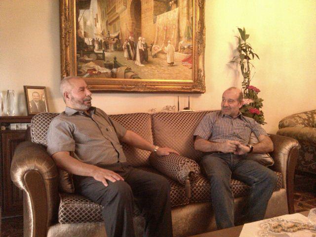 أمين سر حركة فتح في الشمال التقى النائب السابق مصطفى علوش