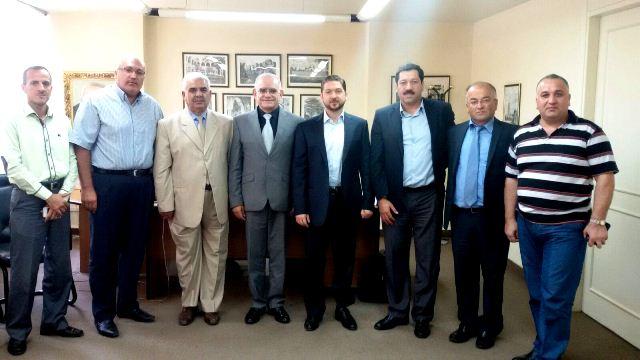 المؤتمر الشعبي اللبناني يلتقي الوزير فيصل كرامي