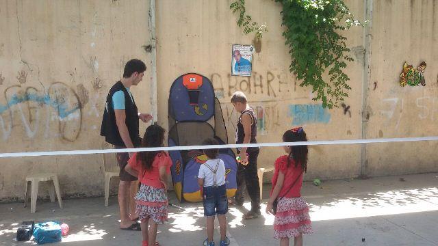 كرمس عيد سعيد لمؤسسة الأطفال والشبيبة الفلسطينية