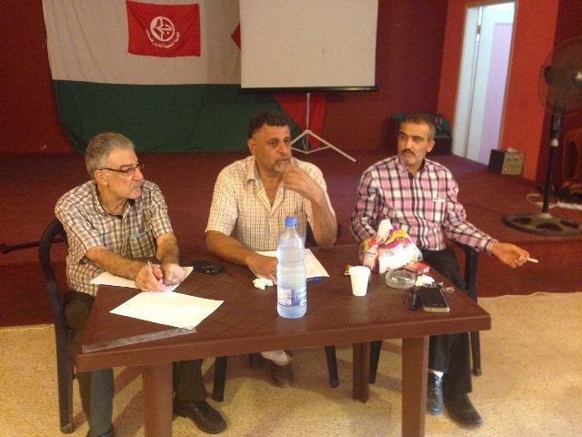لقاء سياسي فكري تحت عنوان: فلسطين الكيان والهوية ... جدلية الوسيلة والغاية