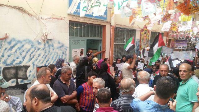 اعتصامات في مخيمات بيروت رفضاً لسياسة الأنروا