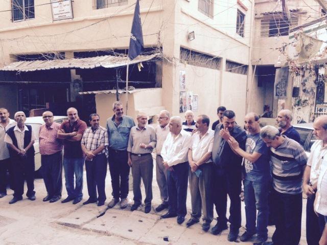منظمة الشبيبة الفلسطينية في الشمال تتضامن من القائد الأسير أحمد سعدات