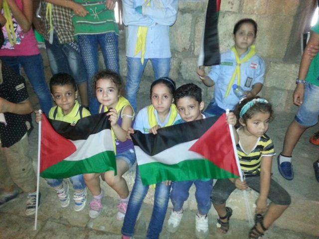 وقفات تضامنية في طرابلس مع الطفل الفلسطيني دوابشة