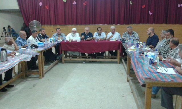 القيادة السياسية الفلسطينية: أكدت على حفظ أمن واستقرار مخيم عين الحلوة