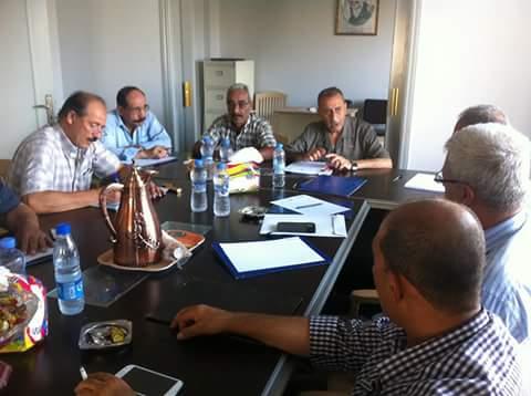 لقاء مشترك بين الاتحاد العام لعمال فلسطين واللجنة الشعبية في عين الحلوة