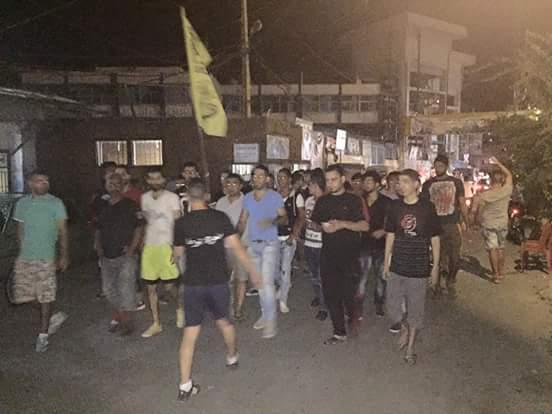 تظاهرات في مخيمات الشمال تضامناً مع مخيم عين الحلوة