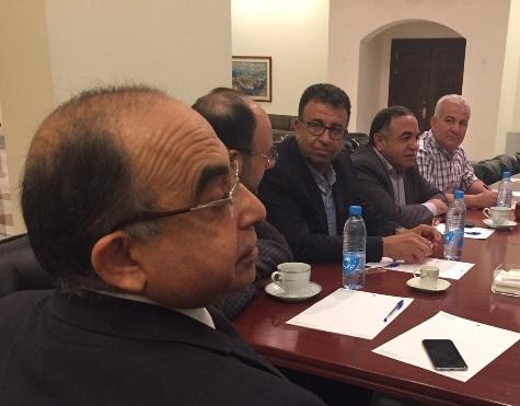 اجتماع لبناني - فلسطيني في السراي الحكومي