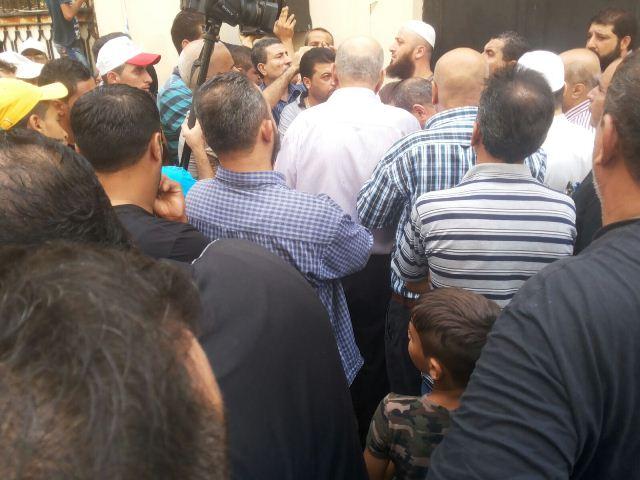 اعتصام حاشد أمام مكتب الأنروا في طرابلس