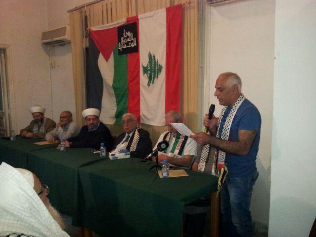 اعتصام تضامني نصرة للقدس وتضامنا مع الاأسرى في سجون الاحتلال الصهيوني في طرابس