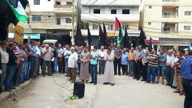 حركة الجهاد الإسلامي تقيم وقفة تضامنية مع المرابطين بفلسطين