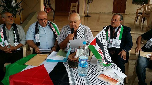 بالحرف نناضل .... وبالكلمة نغني لفلسطين، أمسية شعرية في البداوي