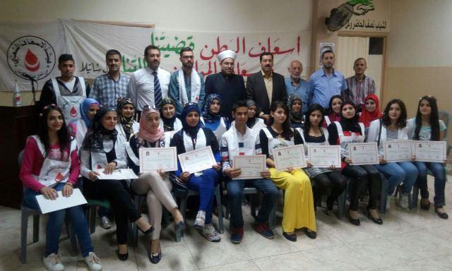 الاسعاف الشعبي في طرابلس تحتفل بتخريج دورتين في الاسعافات الأولية
