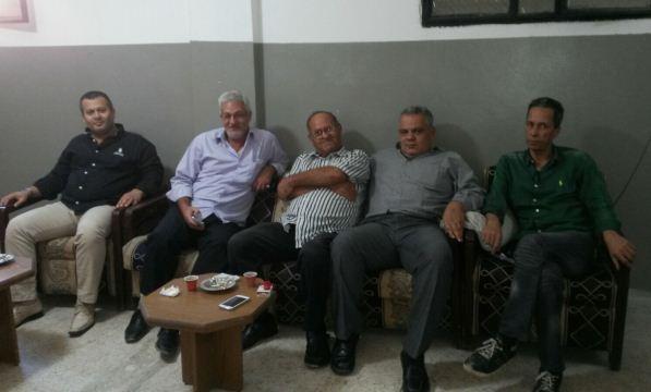 اللجنة الشعبية في مخيم عين الحلوة زارت الجبهة الديمقراطية وشاركت في ندوة ناشط