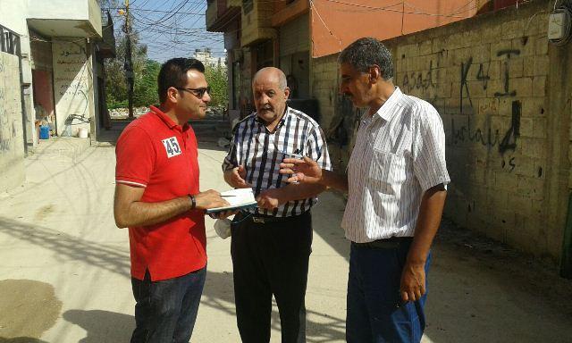 اللجان الشعبية تلتقي المهندس أحمد الحاج من منظمة الـ UNDP