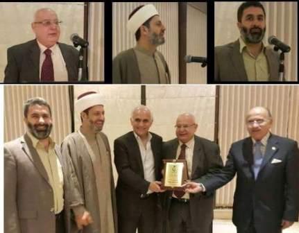 عشاء تكريمي لطبيب قضاء طرابلس و الشيخ شعبان