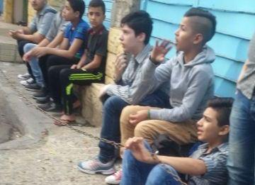 اضراب في مدرسة القدس بمخيم برج البراجنة