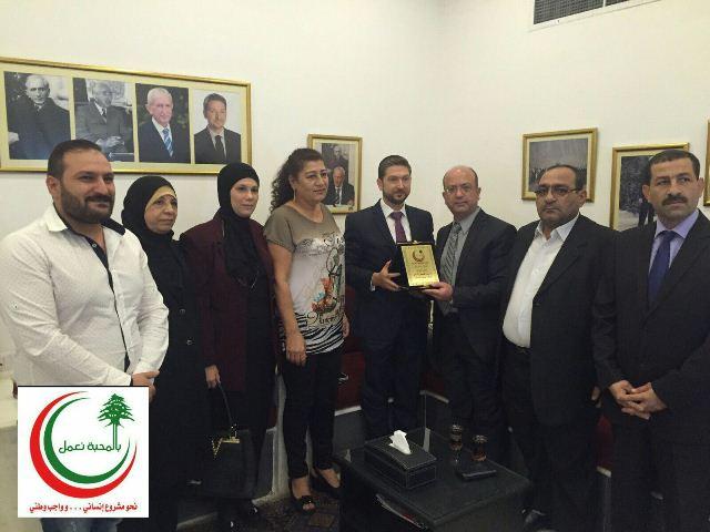 كرامي تابع اوضاع طرابلس مع وفد جمعية بناء الانسان