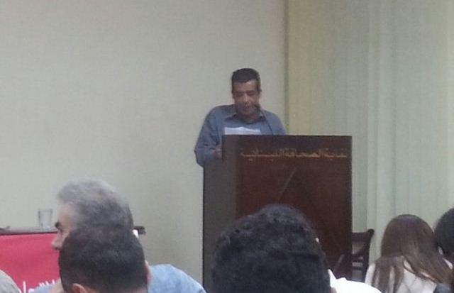 وفد من منظمة الشبيبة الفلسطينية في المؤتمر العاشر لاتحاد الشباب الديمقراطي اللبناني